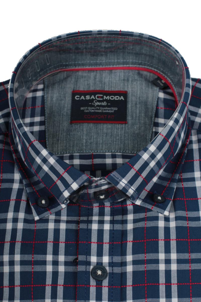 Herren Freizeit Hemd mit Button Down-Kragen Casa Moda 482899300 Comfort Fit