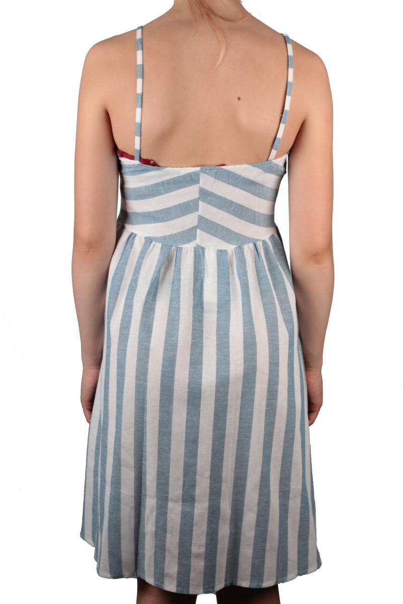 Modisches Kleid aus der Kollektion von Hailys in blau ...