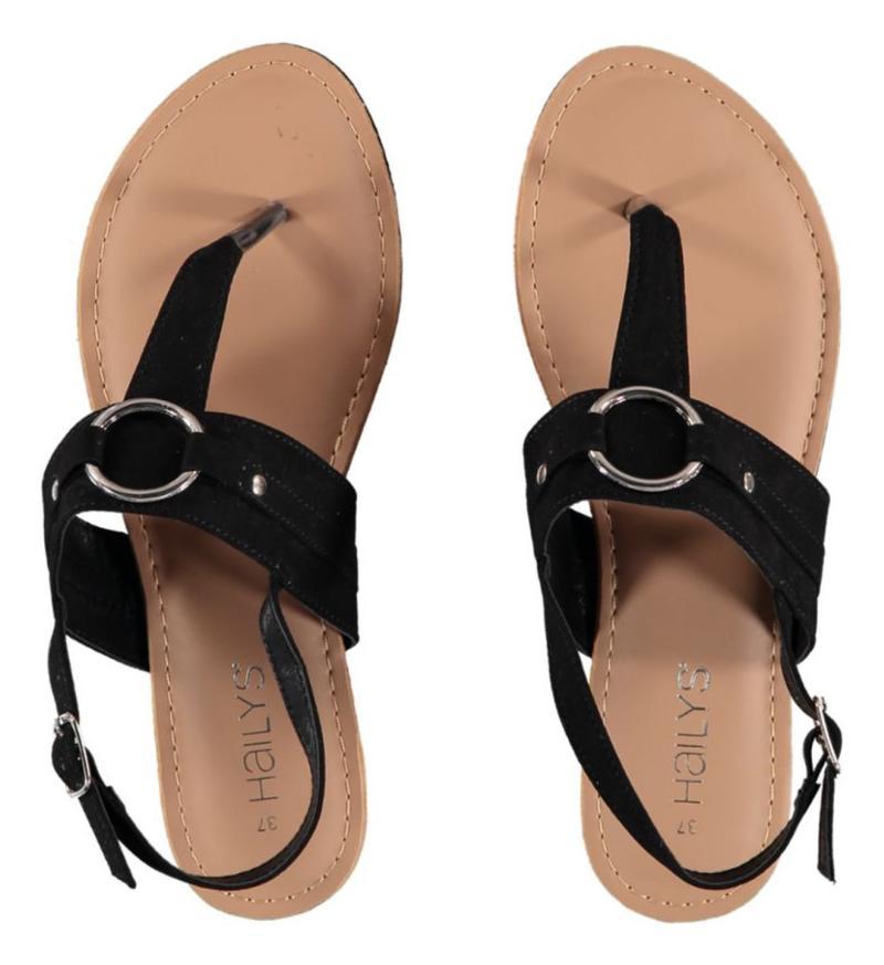 Hailys Sandale Lisa  schwarz