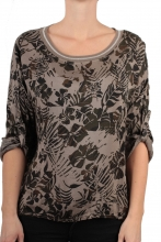 Zabaione Shirt Narcissa mud green