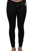 Street One Jeans Crissi mit leichtem Glanz schwarz