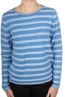 Cecil gestreifter Pullover cornflower blue