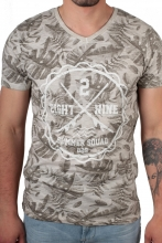 Eight2Nine T-Shirt floraler Druck  beige
