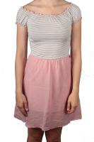 Eight2Nine kurzes Kleid rosa
